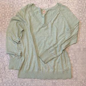 Mossimo Light Green Sweater